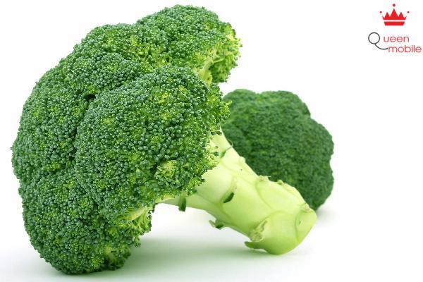 Bông cải xanh có chứa canxi, giúp giảm đường trong máu và làm dễ ngủ.