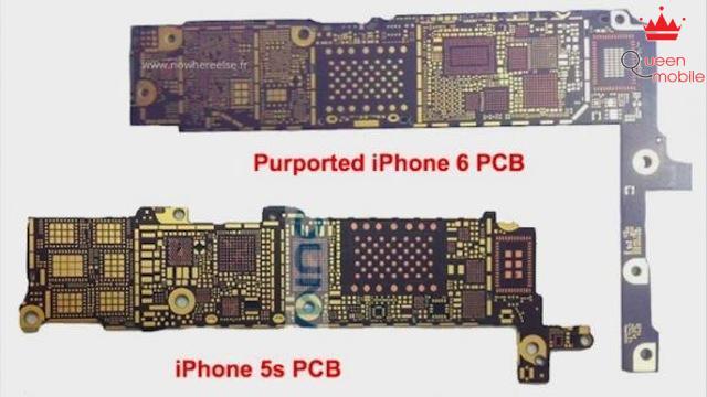 Bo mạch mới của iPhone 6 có thêm ch