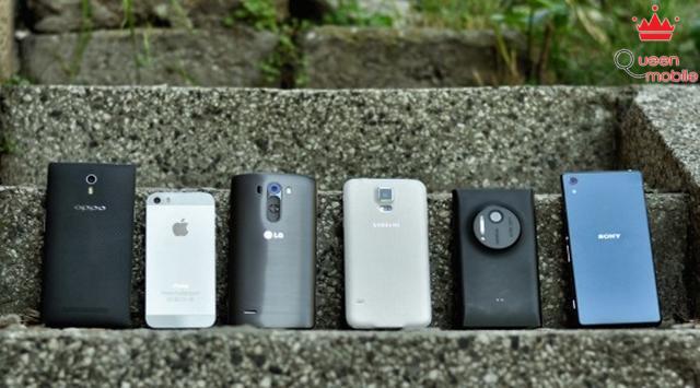 6 smartphone khủng đọ camera
