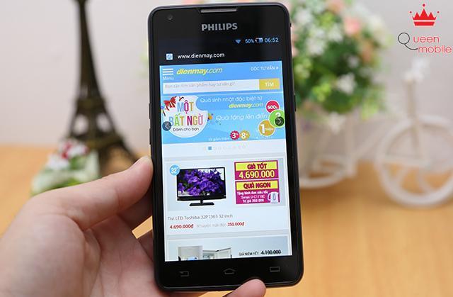 Trên tay Smartphone pin khủng nhất quả đất – Philips Xenium W6610