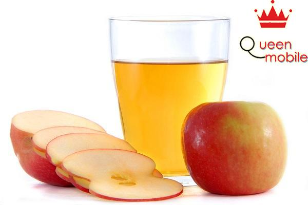 Giấm táo giúp giảm bớt vị ngọt do đường của món ăn