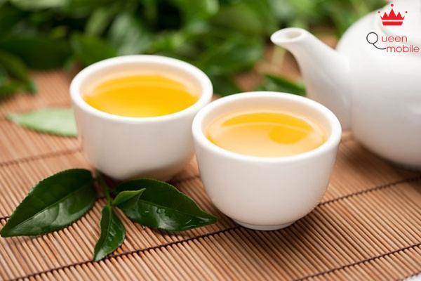 Uống trà xanh giúp giảm béo khá tốt