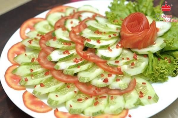 Ít người biết rằng cà chua và dưa leo không nên ăn sống chung với nhau.