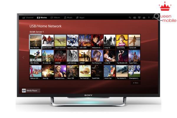 Review Internet Tivi LED Sony KDL- 42W700B, tivi Sony tầm trung tốt nhất hiện nay
