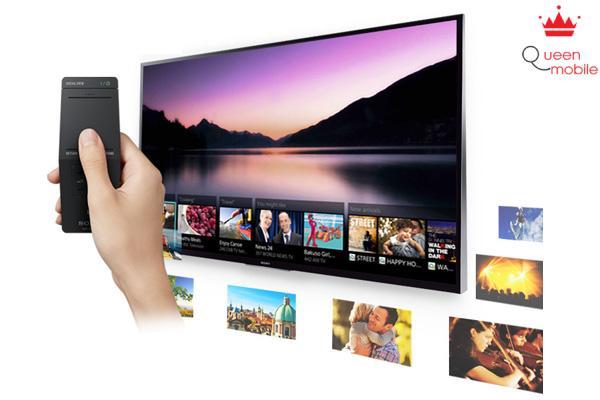 Điều khiển touchpad dễ dàng thao tác chọn kênh yêu thích