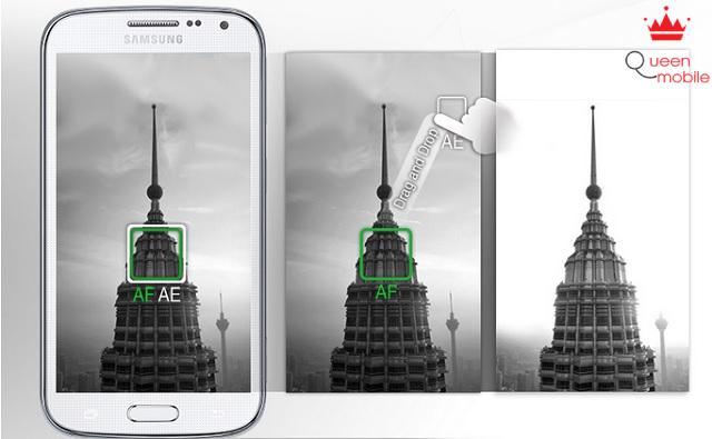 Chế độ AF/AE trên Galaxy K Zoom
