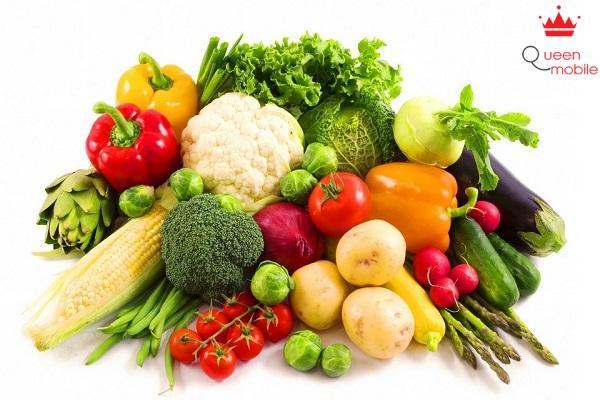 Ăn rau củ quả chứa nhiều Vitamin giúp sống lâu