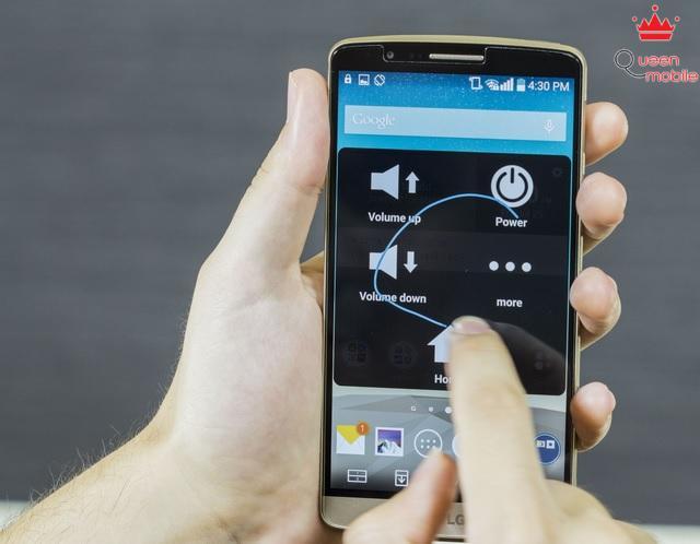 Touch Control cho phép bạn gọi ứng dụng nhanh