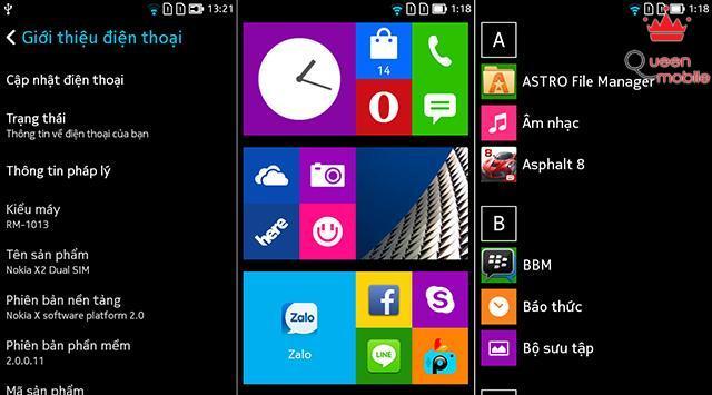 Nền tảng X Platform 2.0 ngày càng giống Windows Phone