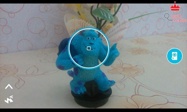 Giao diện chụp ảnh của Nokia X2