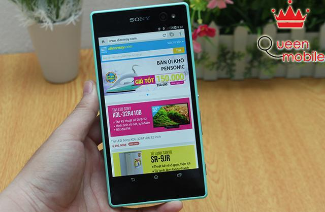 Trên tay Xperia C3 - Smartphone tự sướng đẹp nhất của Sony
