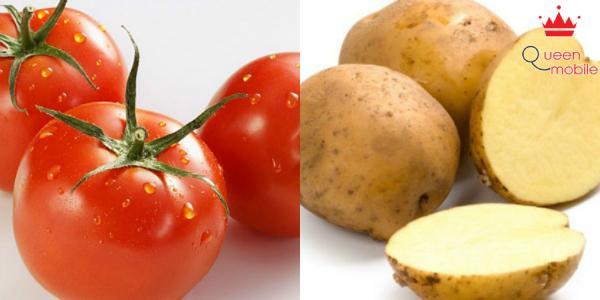 Ăn cà chua kết hợp với khoai tây gây rối loạn tiêu hóa