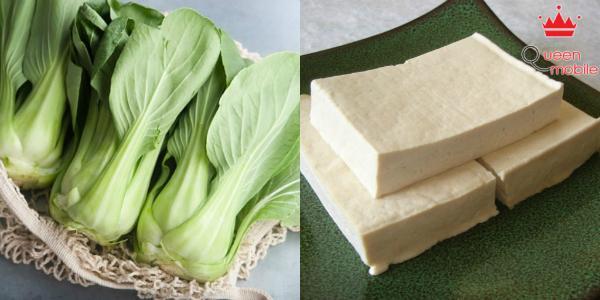 Ăn cùng lúc rau cải chân vịt và đậu hũ dễ bị sỏi thận