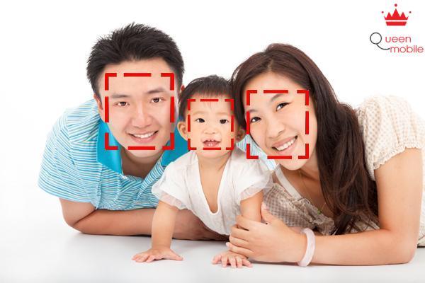 Chức năng nhận diện khuôn mặt thông minh