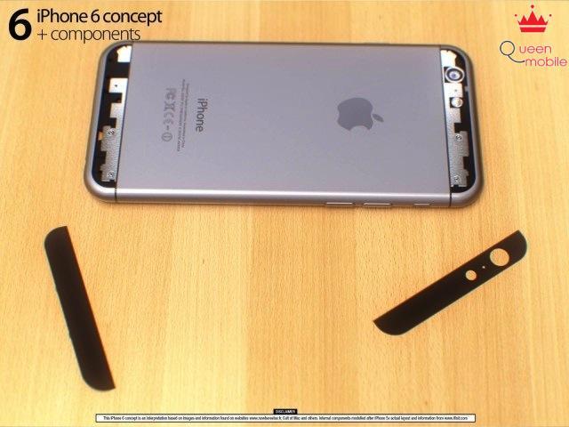 IPhone 6 chưa ra mắt đã bị soi phần cứng chi tiết