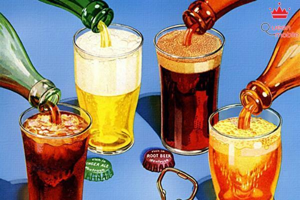 Nước ngọt có ga gây ảnh hưởng tới cơ quan tiêu hóa