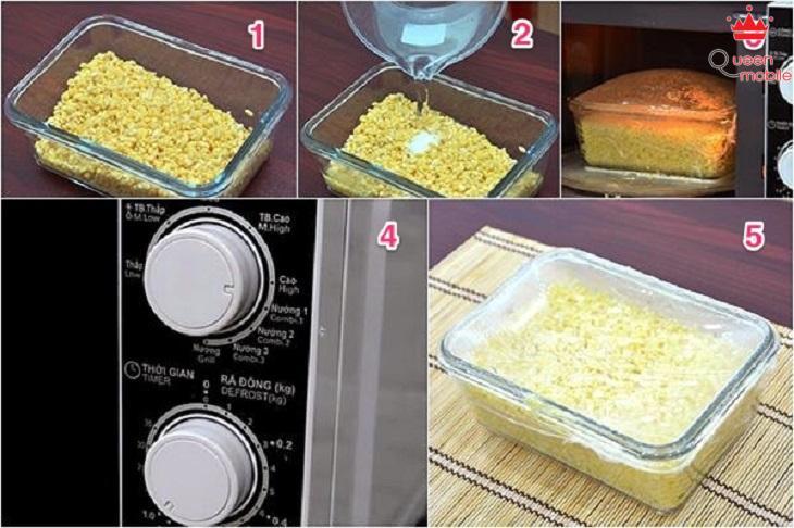 Cách làm bánh trung thu chay không dùng lò nướng