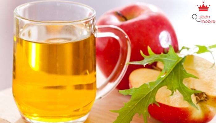 Dung dịch giấm táo có nhiều axit kháng khuẩn