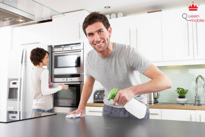Cần một khoảng thời gian để chất tẩy rửa tiêu diệt vi khuẩn