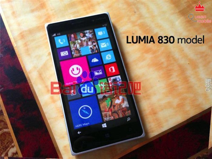 Nokia Lumia 830 khoe sắc rữ rỡ trong loạt ảnh rò rỉ