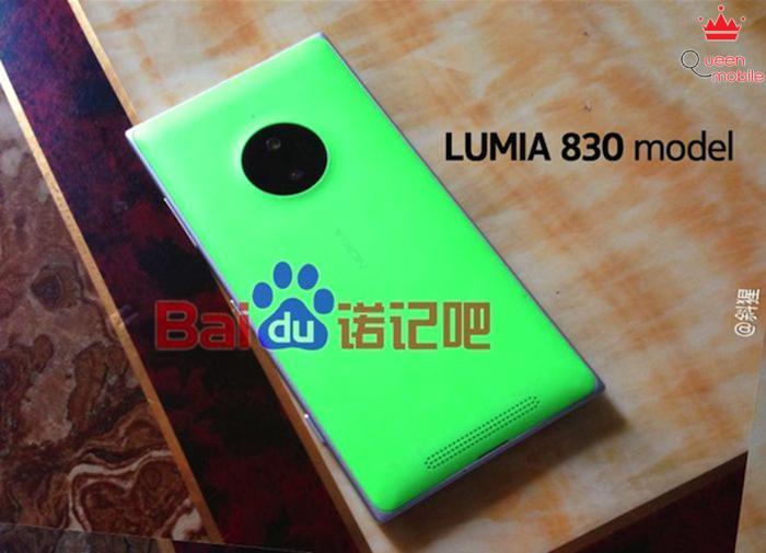 Nokia Lumia 830 khoe sắc rực rỡ trong loạt ảnh rò rỉ