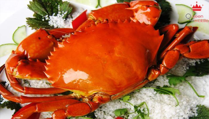 Trong thịt cua chứa lượng cholesterol đáng kể