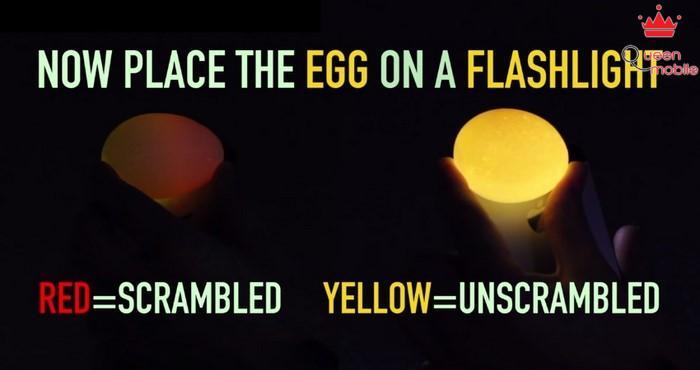 Đánh đều trứng mà không cần bóc vỏ
