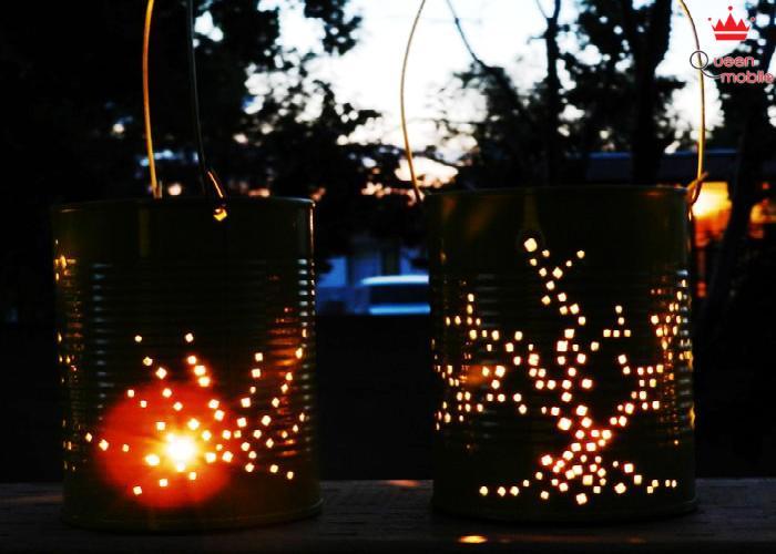Lồng đèn từ vỏ lon thực sự là một sáng tạo độc đáo