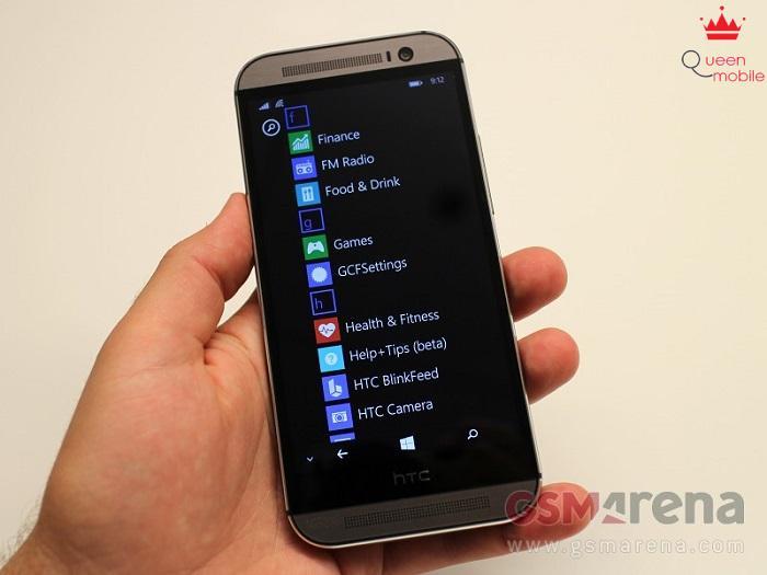 HTC One M8 hoạt động cực kỳ mượt mà trên phiên bản Windows Phone 8.1.1
