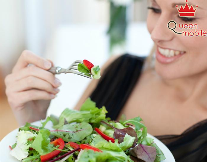 Nên dùng nhiều rau trong bữa ăn
