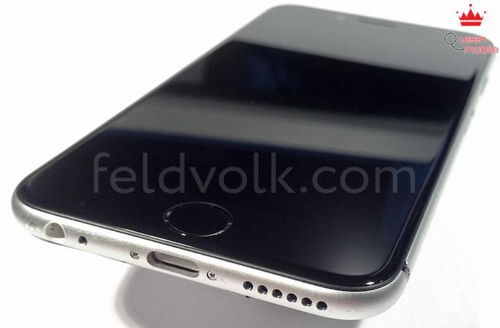 Ảnh độ mỏng của iPhone 6