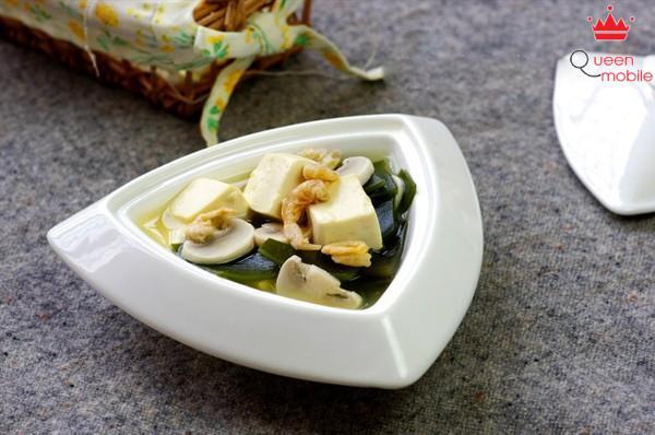 Canh đậu phụ rong biển thanh ngọt, càng ăn càng ghiền
