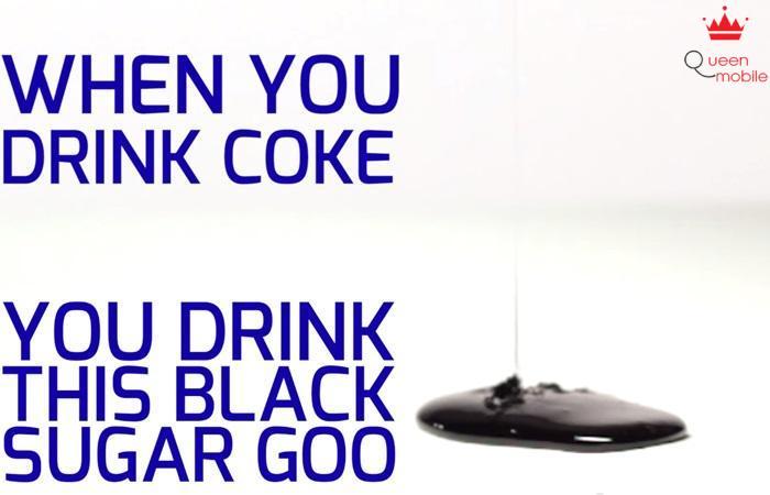 Sau khi loại hết nước, bạn sẽ có ngay đường đen, bất ngờ không?