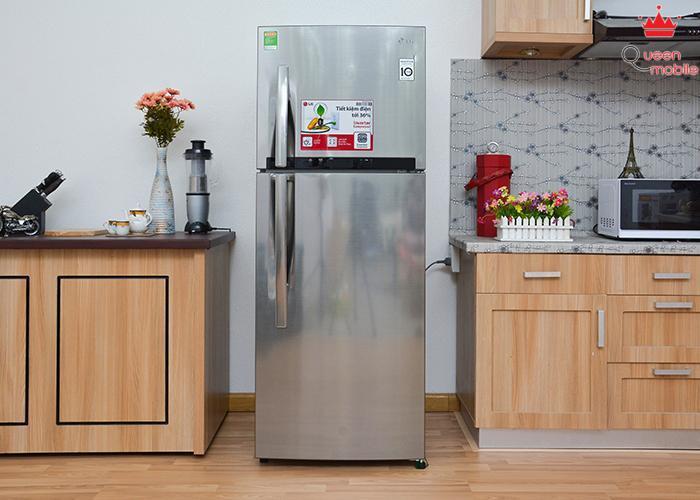Đánh giá tủ lạnh LG GR-L352S 288 lít tủ lạnh siêu tiết kiệm điện năng (Phần 1)