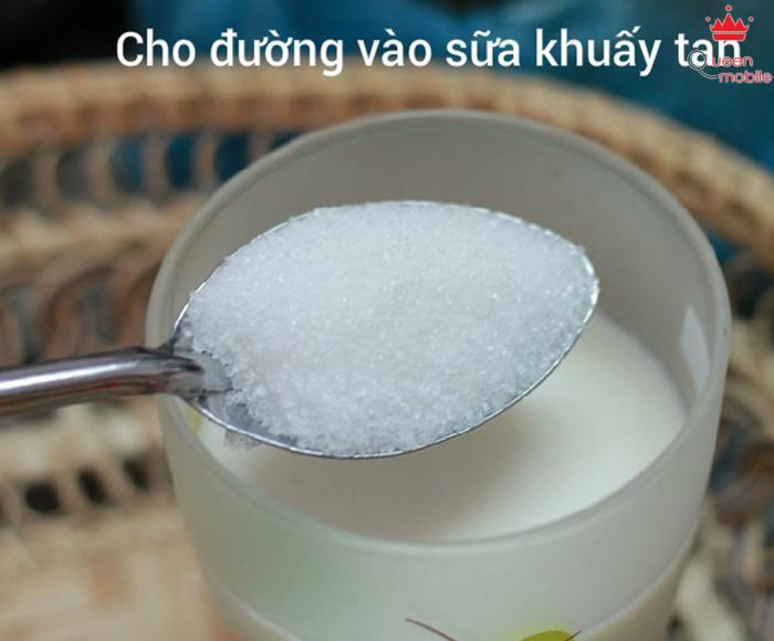 Chè bí đỏ sữa tươi bột báng