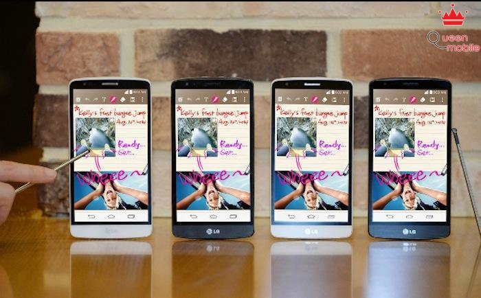 LG G3 Stylus hỗ trợ bút cảm ứng