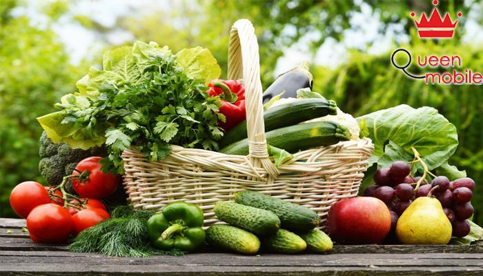 Vì ít calo nên ăn nhiều rau quả cùng không sợ béo phì