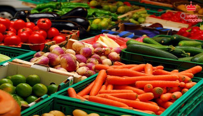 Rau quả như cà rốt cần hấp thụ chung với dầu là tốt nhất