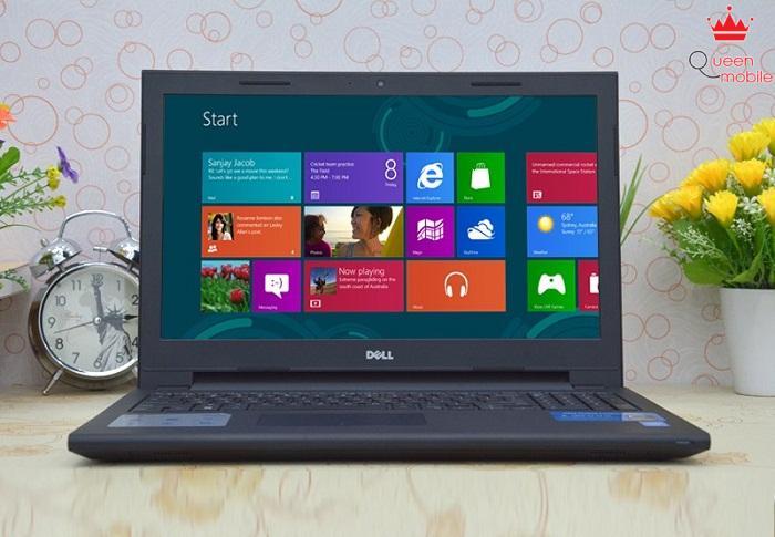 Màn hình rộng giúp Dell Inspiron 3542 đáp ứng tốt nhu cầu học tập cũng như giải trí