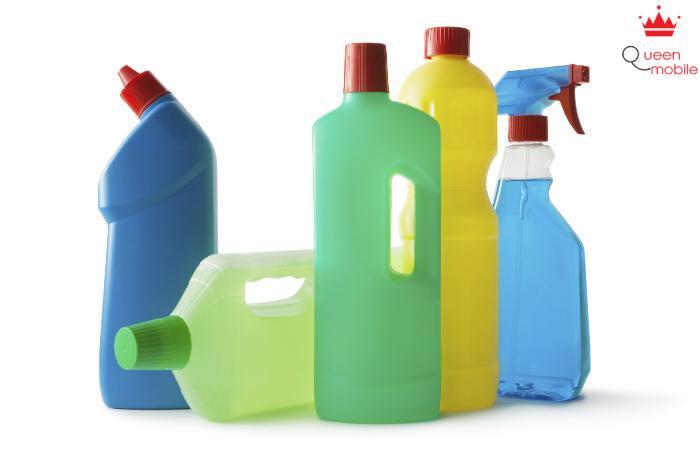 Chất tẩy rửa công nghiệp gây nguy hại cho sức khỏe