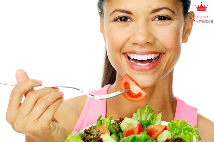 Ăn nhiều rau xanh là một cách để tránh nguy cơ béo phì