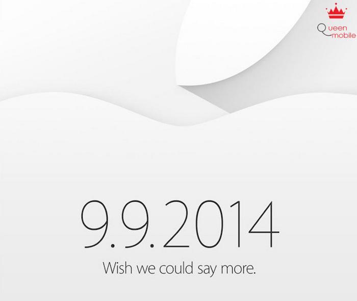 IPhone 6 chính thức ra mắt ngày 9/9/2014