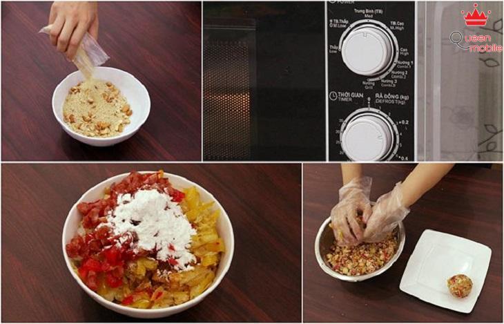 [Video] Cách làm bánh trung thu thập cẩm bằng lò nướng thủy tinh
