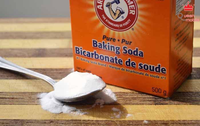 Baking soda có tác dụng tẩy trắng rất tốt