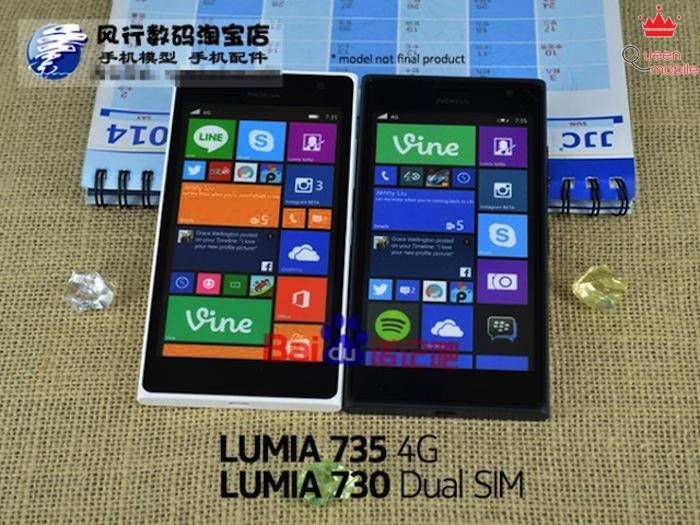 Hình ảnh chính thức của Nokia Lumia 730, Lumia 735