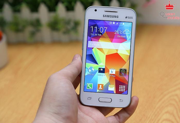 Đánh giá Samsung Galaxy V – Cấu hình thấp, tiện ích cao