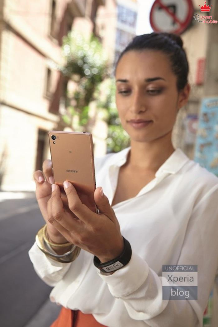 Sony Xperia Z3 lộ ảnh báo chí với màu mới tuyệt đẹp