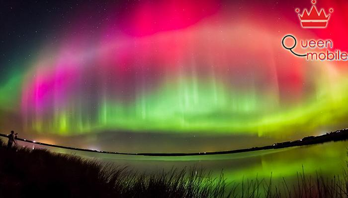 Aurora Borealis nghĩa là ánh sáng cực quang