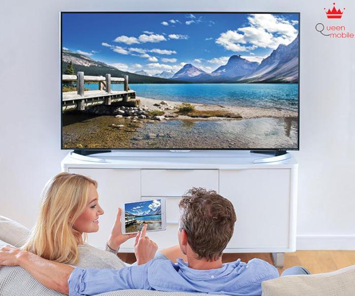 Tivi cho phép dễ dàng ghép nối với các thiết bị ngoại vi