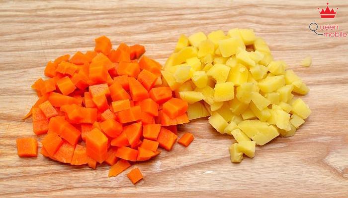 10 phút có ngay Salad Nga hấp dẫn khó chối từ